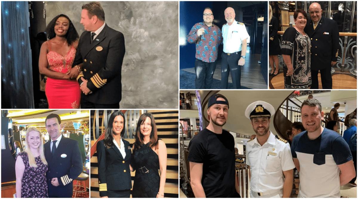 cruise ship captain photos