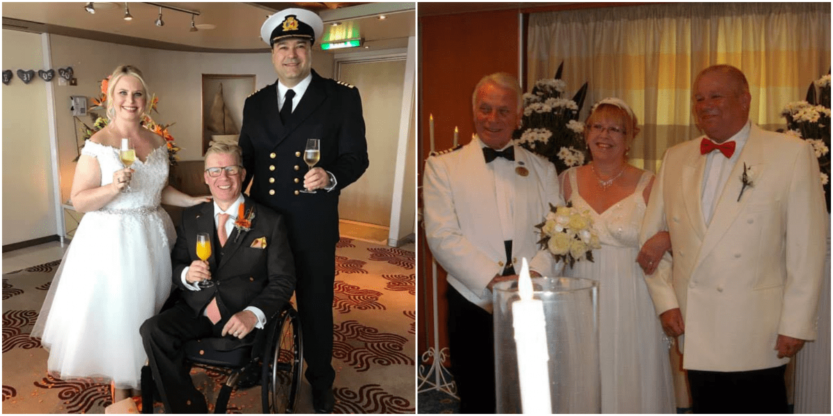 cruise ship captains weddings