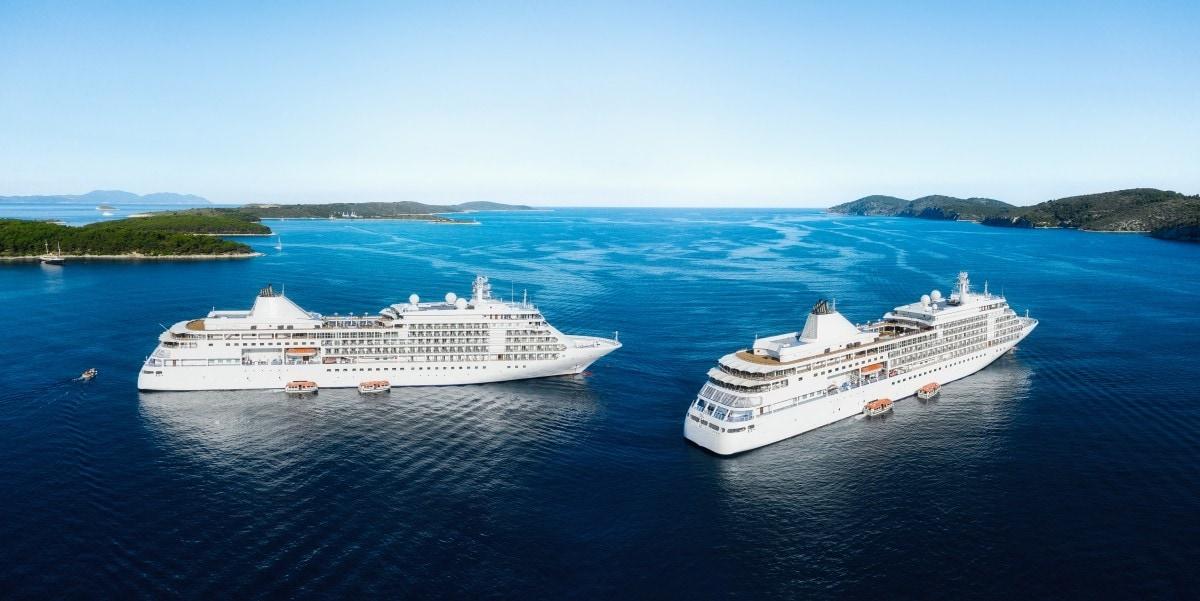 cruise ships drone