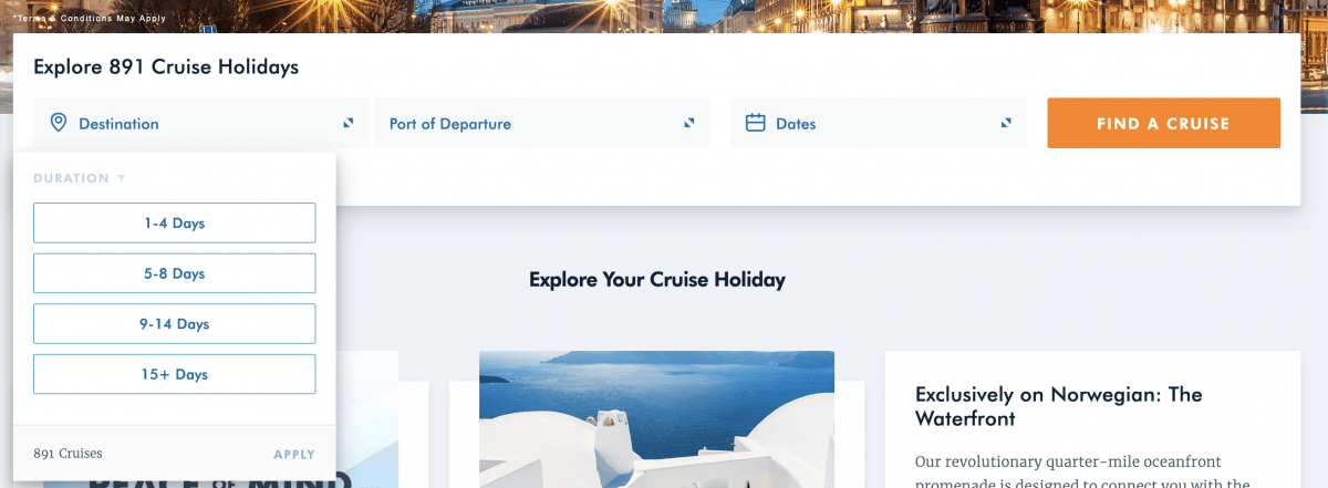 Norwegian Cruise Line Short Cruises