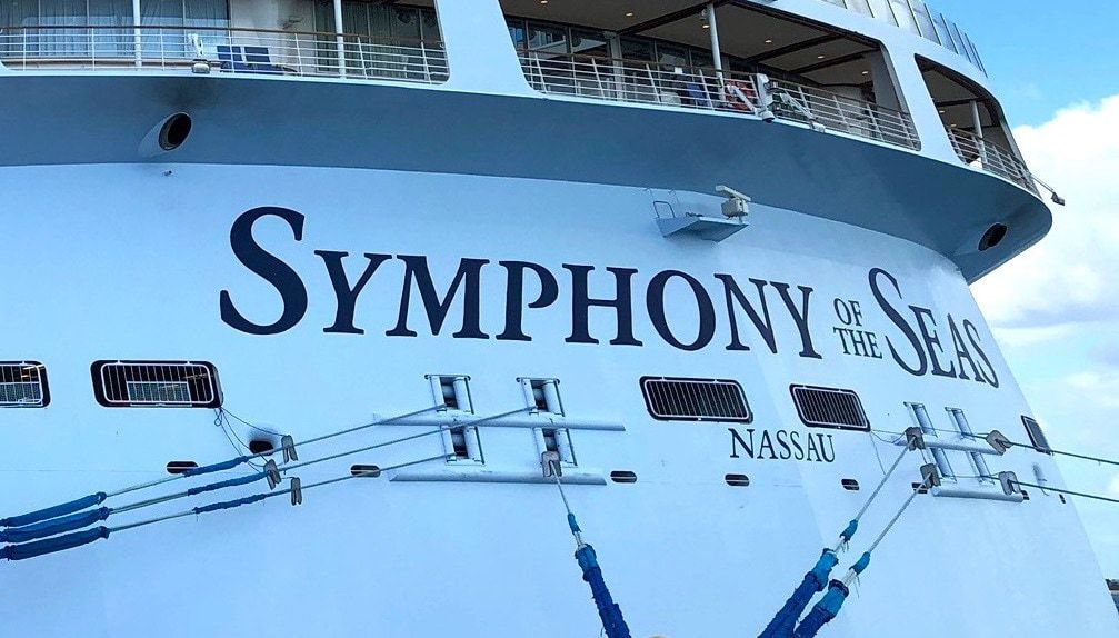 Symphony of the seas nassau