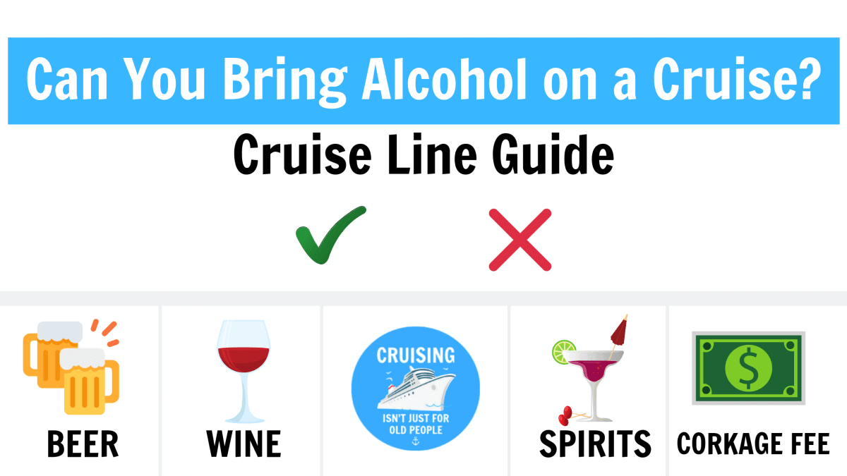 Can You Bring Drinks on a Cruise