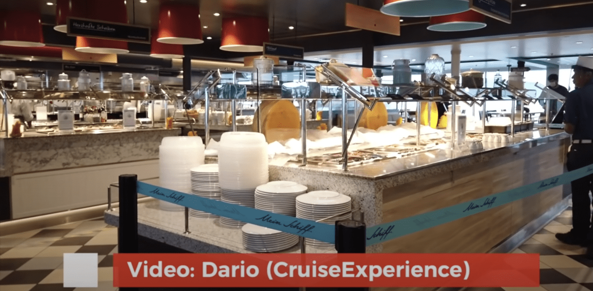 cruise buffet after covid self service tui mein schiff