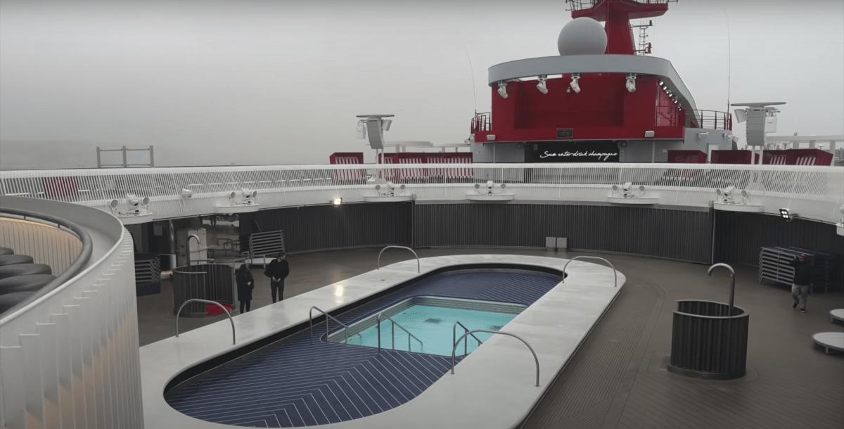 virgin voyages scarlet lady swimming pool