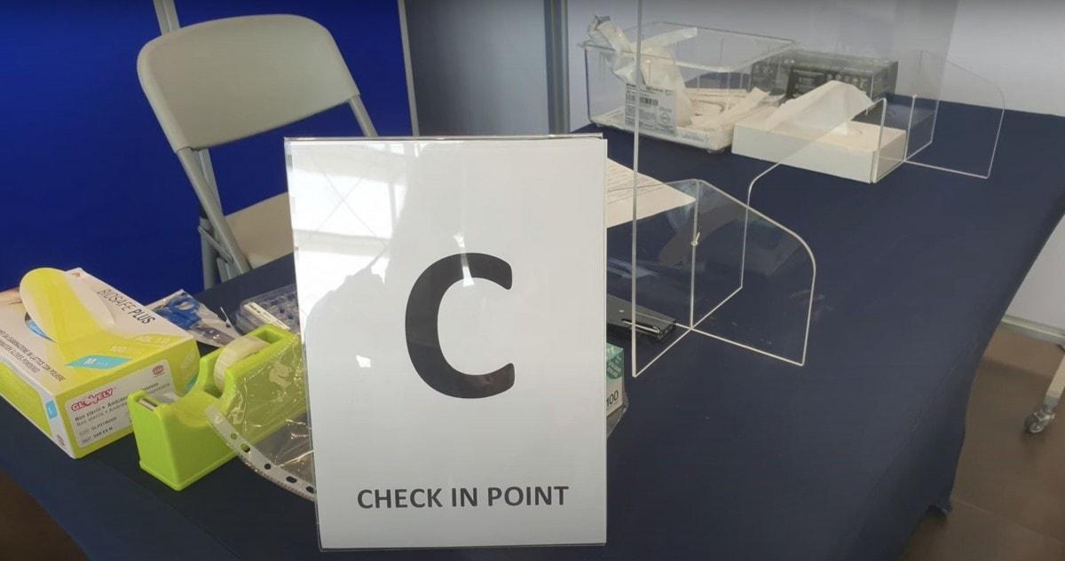 MSC Cruises Coronavirus Test before boarding station C