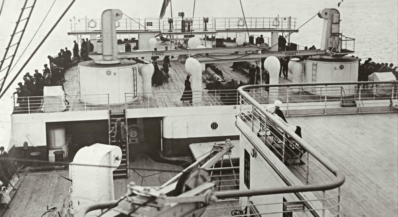 titanic poop deck aft of ship