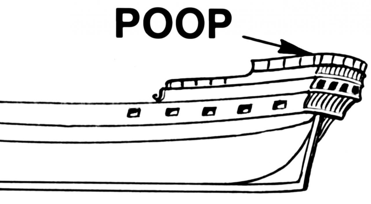 poop deck cruise ship diagram picture