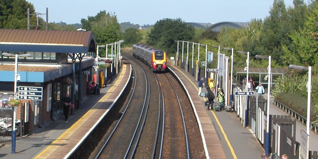 Southampton Airport Parkway Train Station