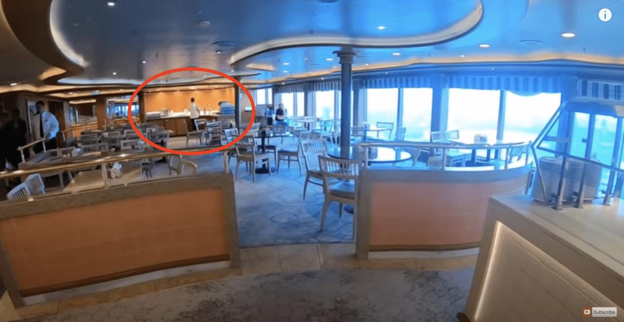 princess cruises buffet tea and coffee making facilities