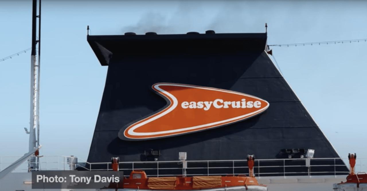 EasyCruise ship funnel