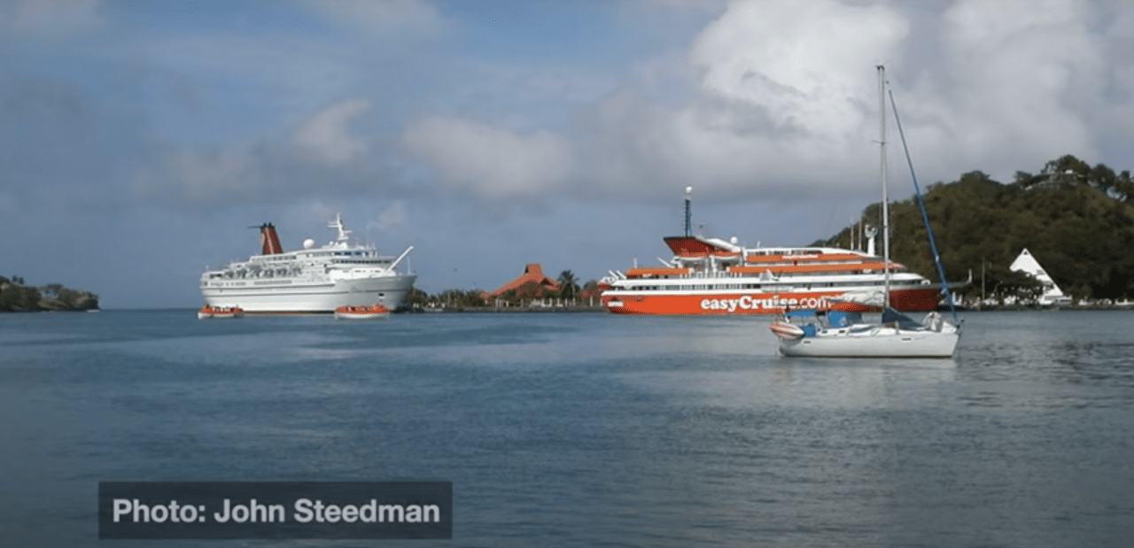easycruise one ship docked
