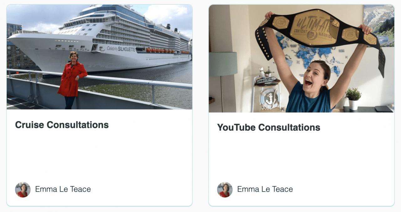 Emma Cruises Consultations