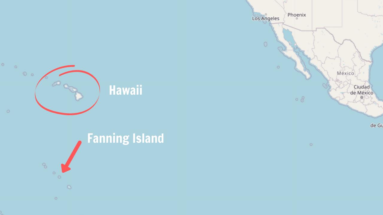 hawaii cruises fanning island