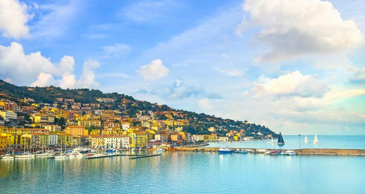 coast of tuscany
