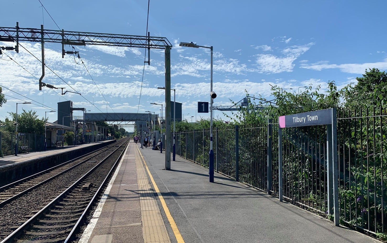 london tilbury town train station