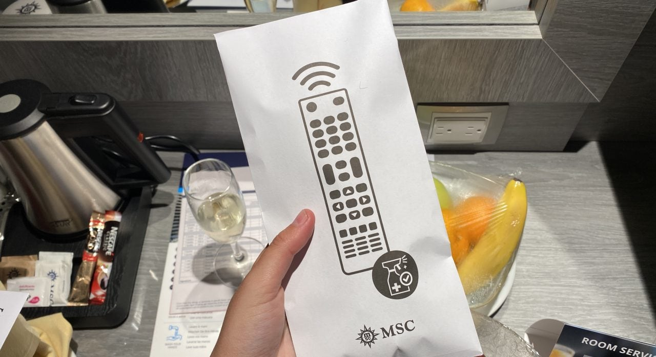 msc virtuosa remote control in packet covid measures