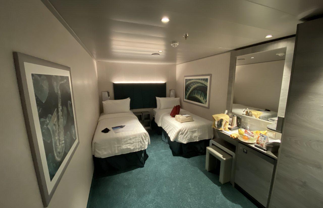 MSC Virtuosa inside cabin