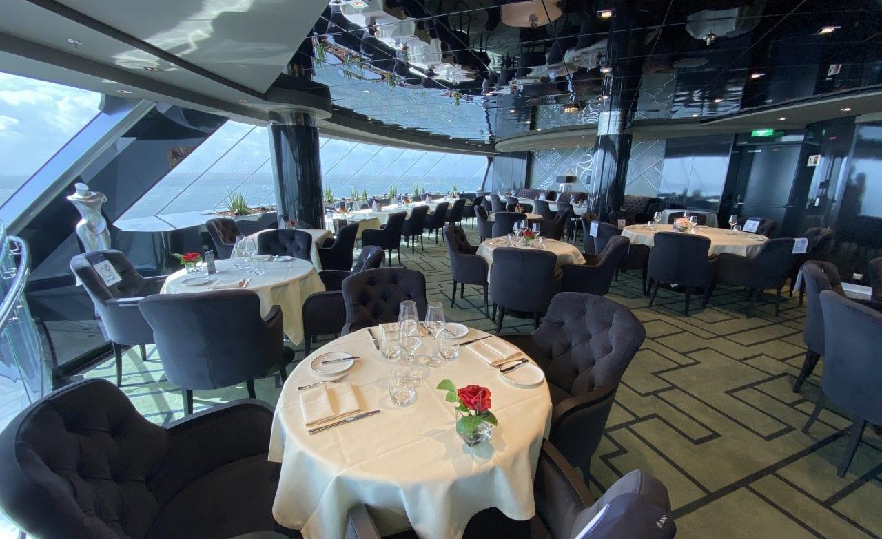 msc virtuosa yacht club restaurant
