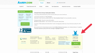 aardy travel insurance
