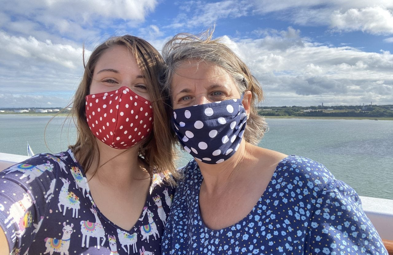 Emma Cruises Celebrity Silhouette with Mum