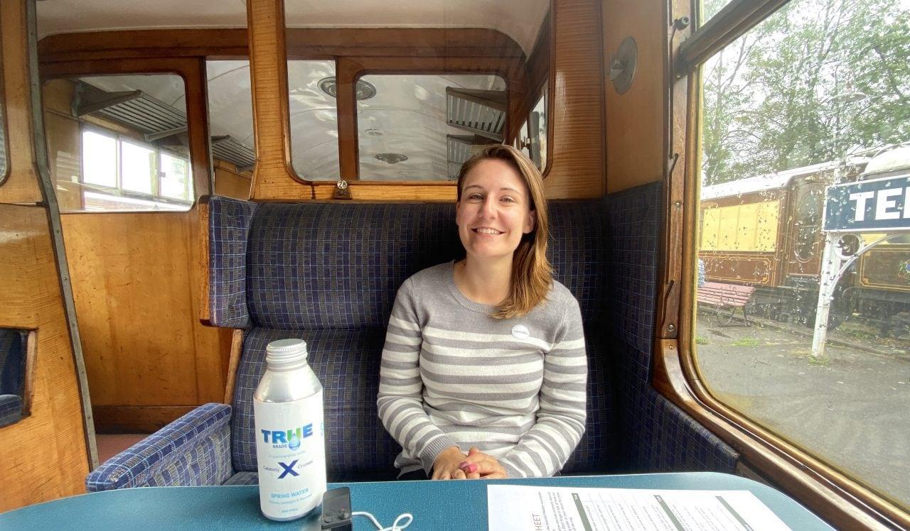 Emma Cruises Dover Excursion on Train Celebrity Silhouette