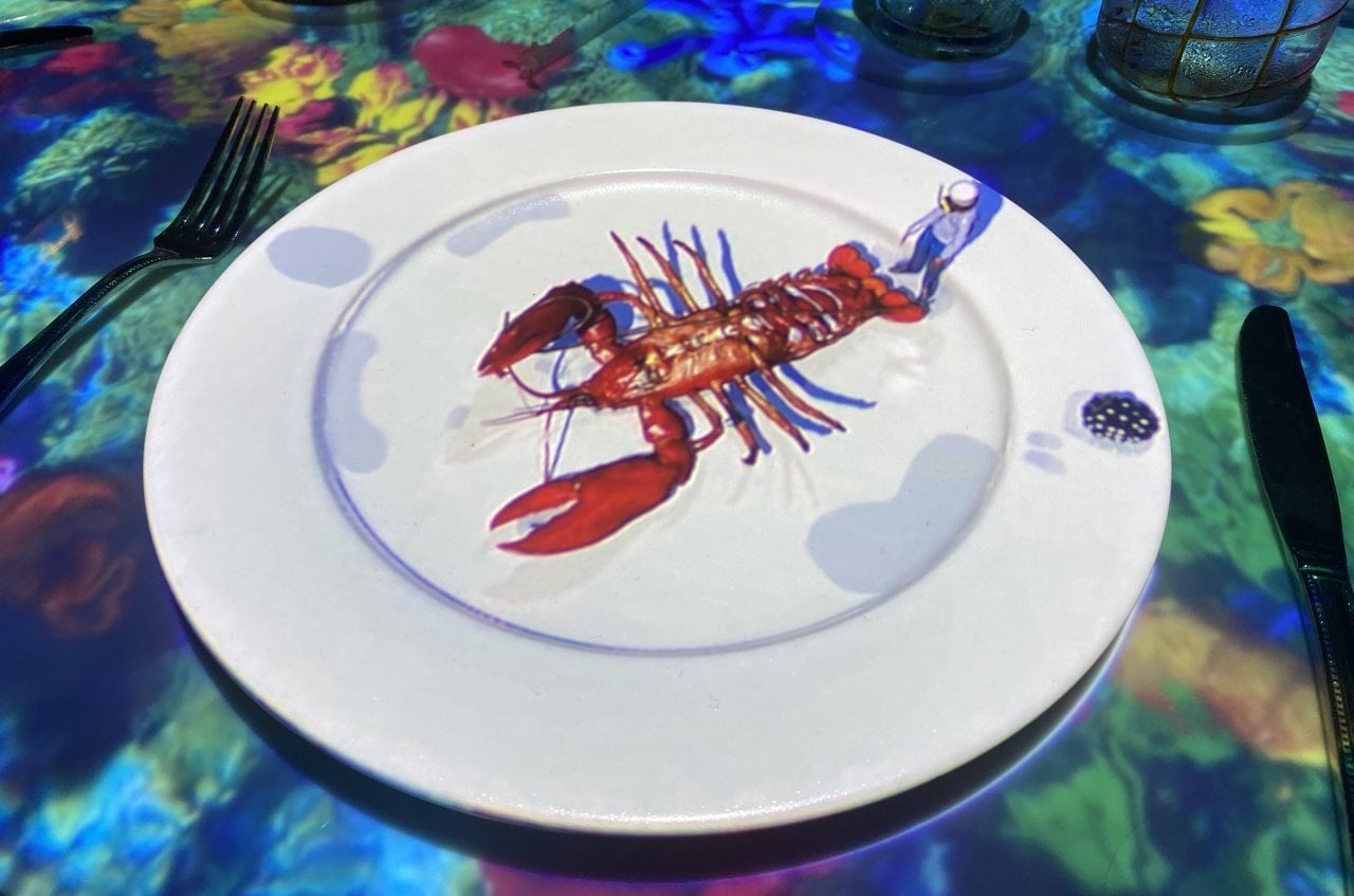 le petit chef celebrity cruises restaurant lobster