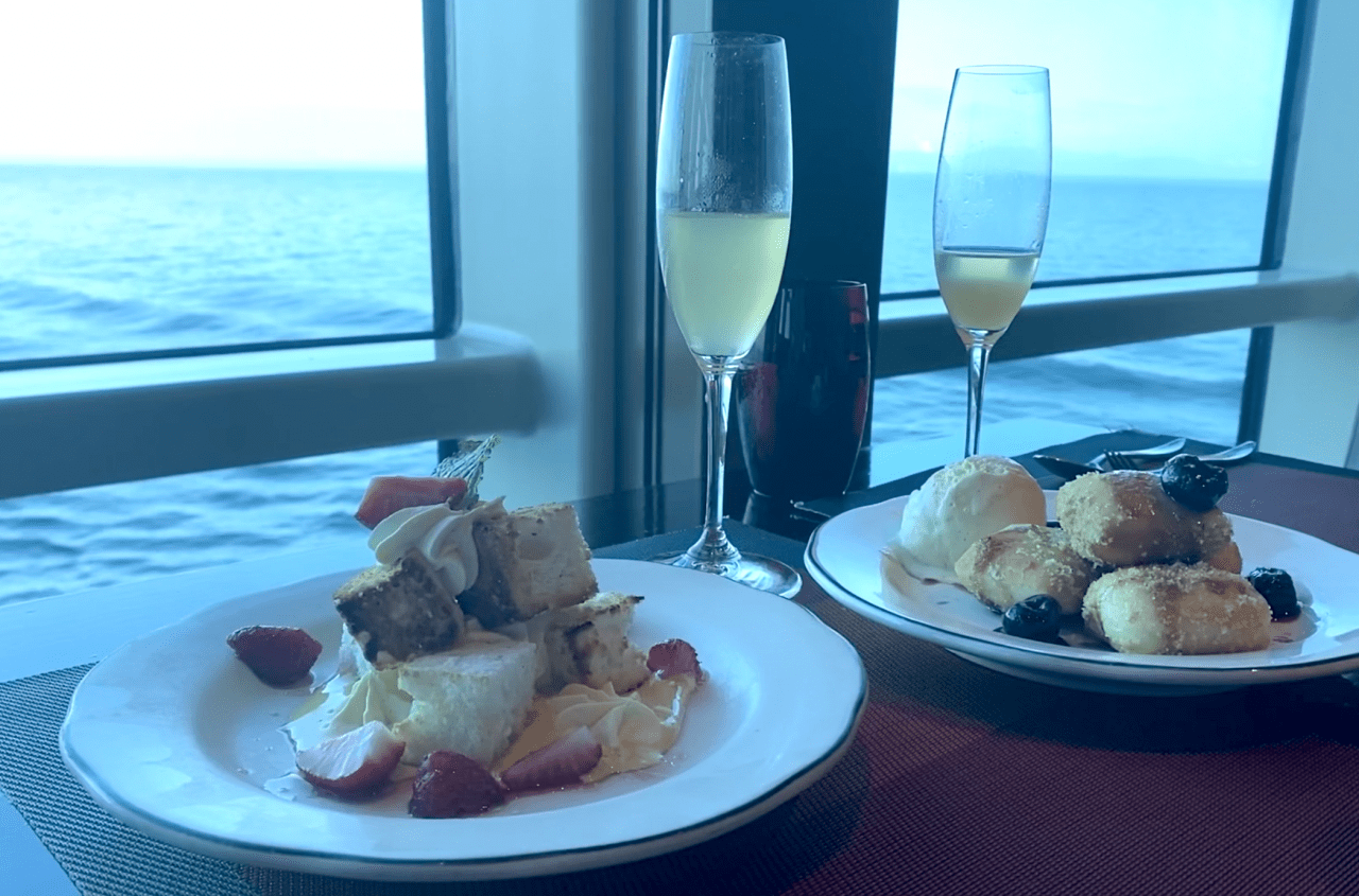 celebrity cruises included prosecco