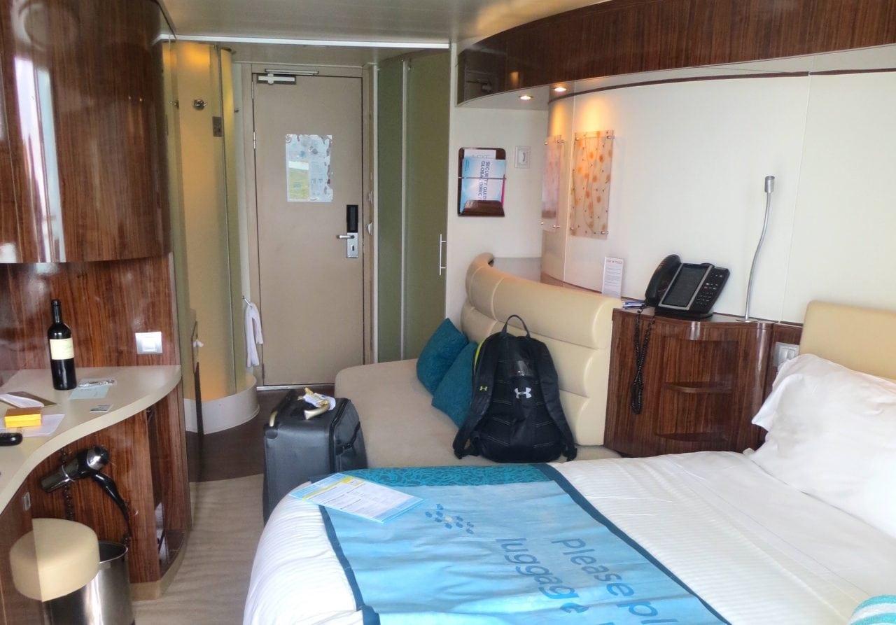 Norwegian Epic Balcony Cabin Review Bathroom