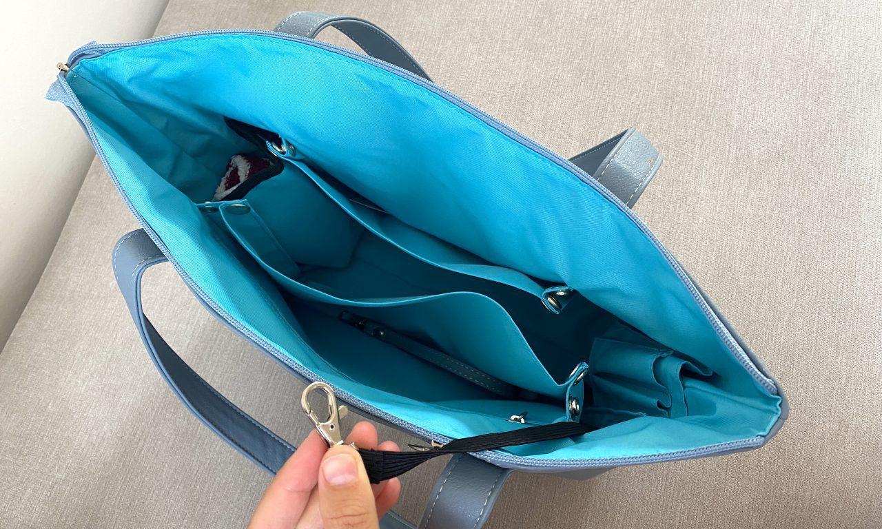 elasticated key chain mia tui handbags