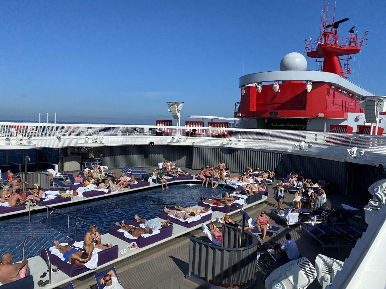 virgin voyages scarlet lady main pool deck swimming pool