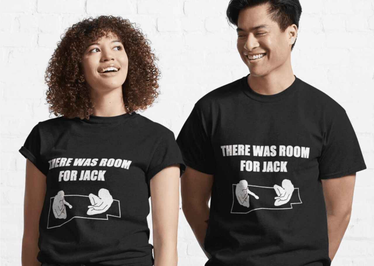 jack would have fit on the door tshirt