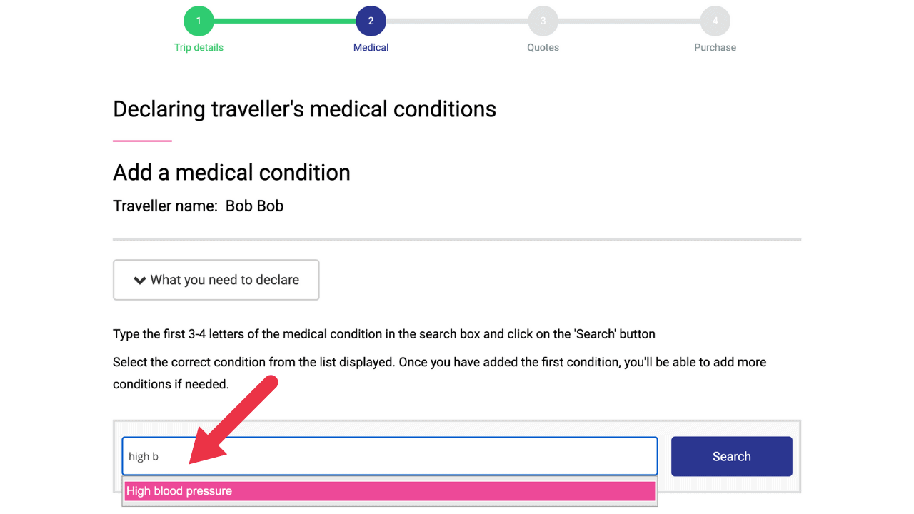 all clear cruise cover preexisting medical conditions