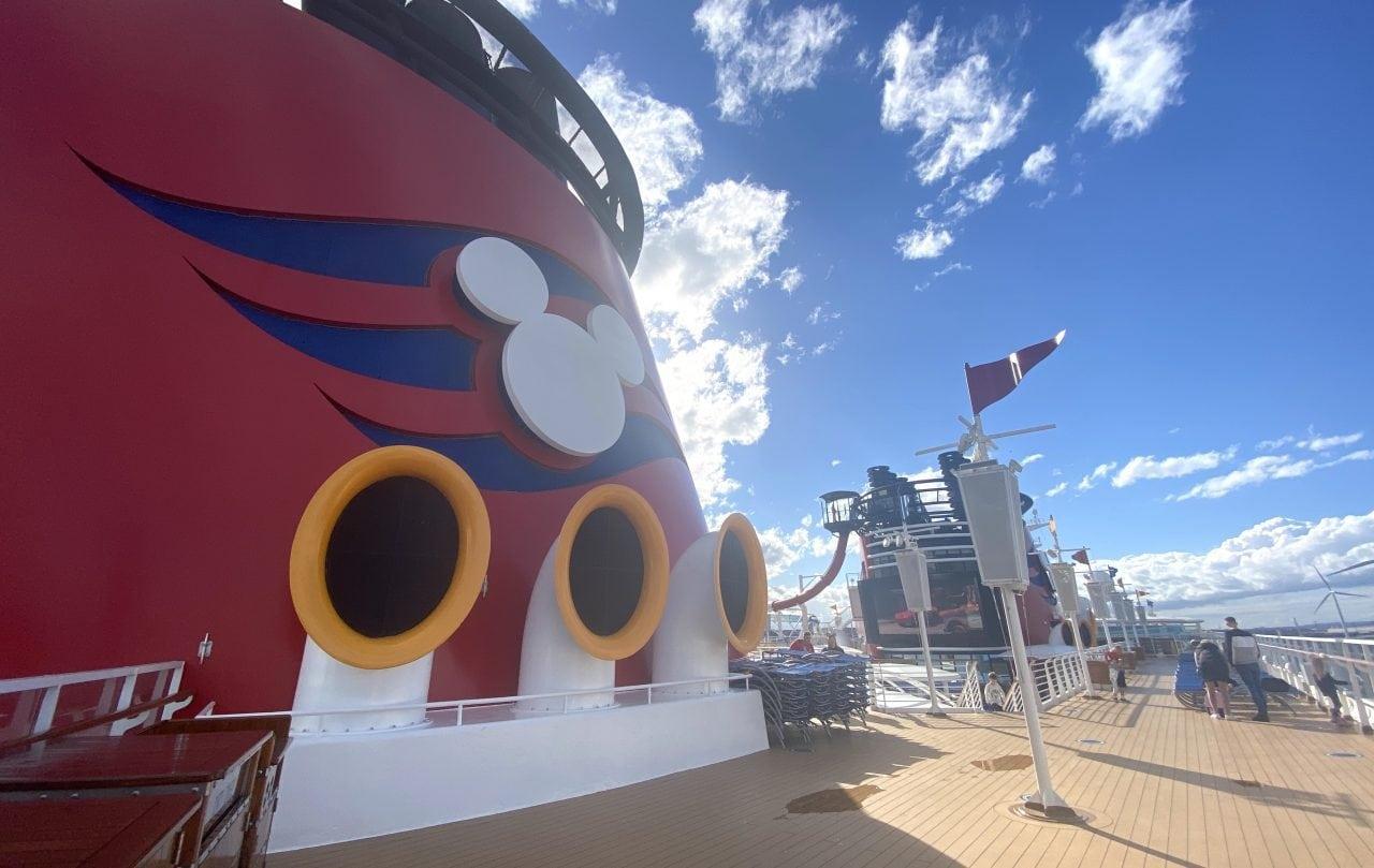 Disney cruise funnell disney magic pool deck