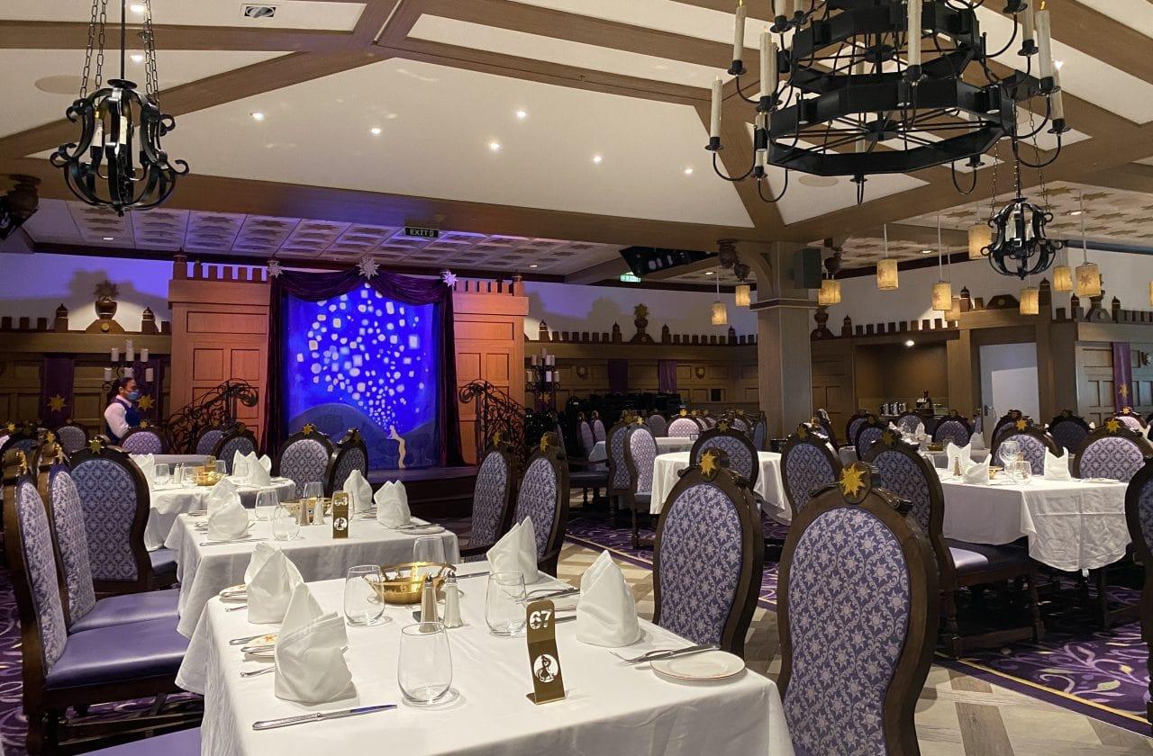 disney magic rapunzel table dining room