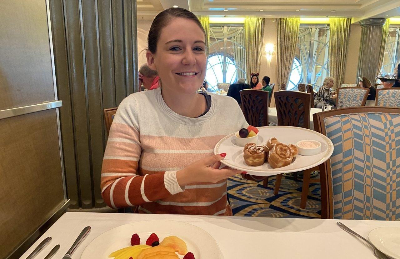 disney cruise mickey waffles for breakfast