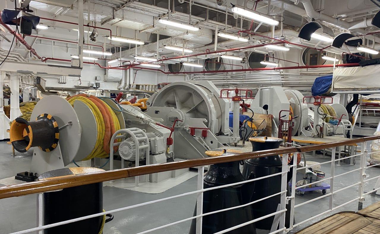 disney magic promenade deck machinery