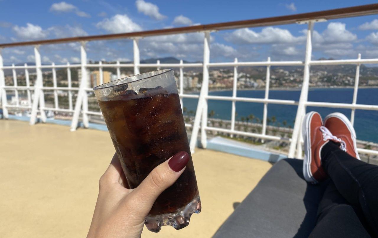 marella cruises all inclusive drinks diet coke on pool deck
